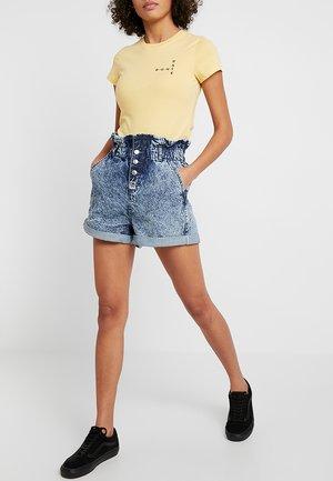 ACID PAPERBAG - Shorts di jeans - blue denim