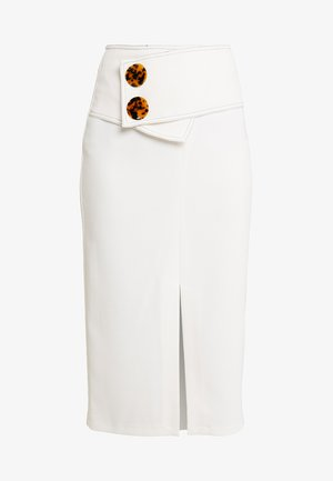Pencil skirt - ivory