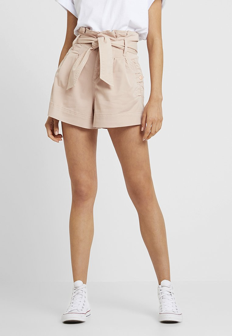 Topshop - UTILITY - Shorts - nude
