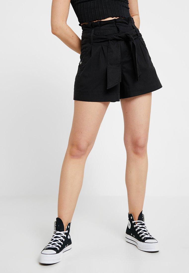 Topshop - UTILITY - Shorts - black