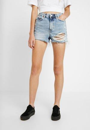 RIP MOM - Denim shorts - bleached denim