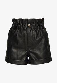 Topshop - PAPERBAG - Shorts - black - 3