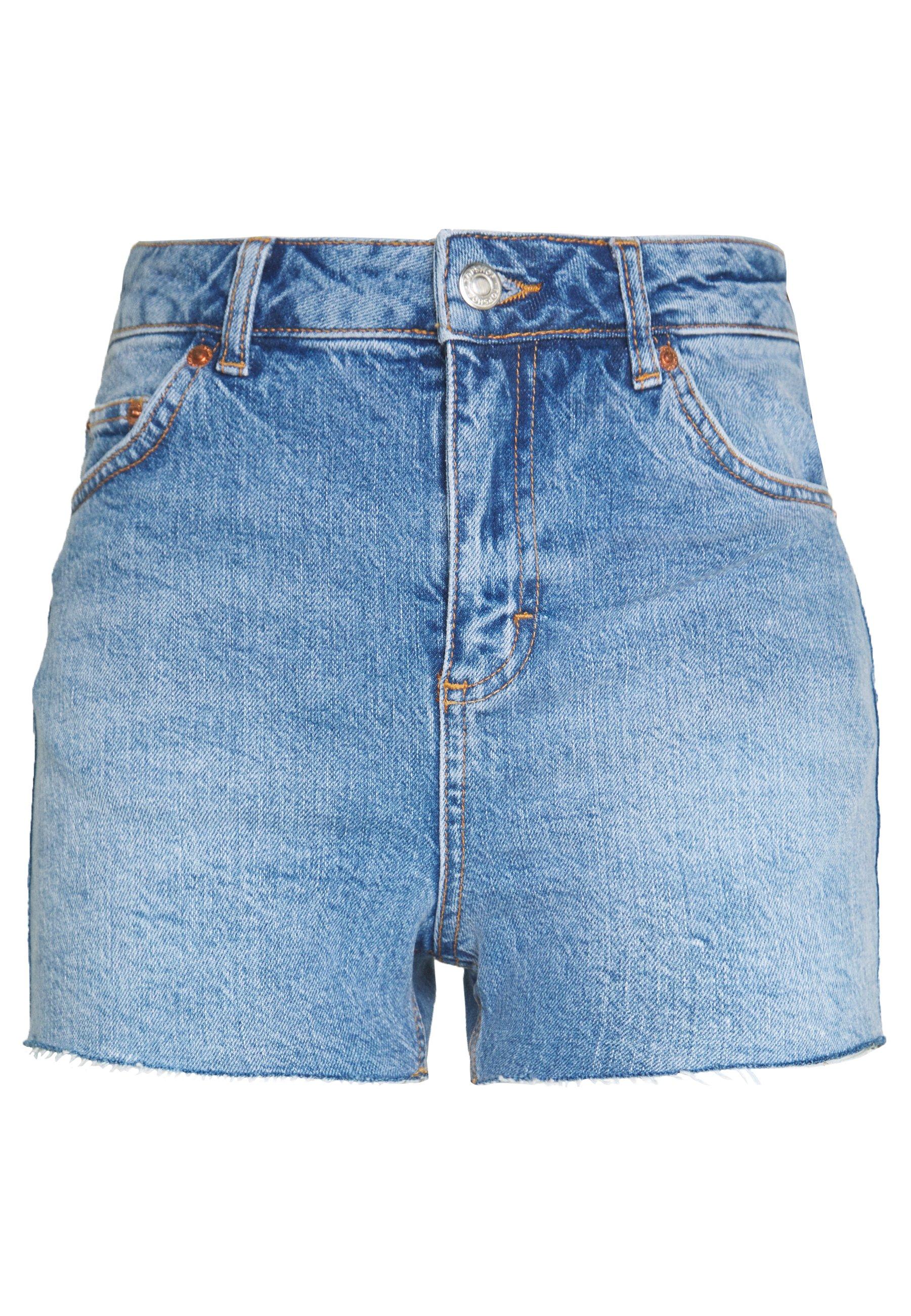 Topshop Szorty jeansowe - blue denim