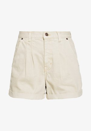 BALLOON - Denim shorts - sand