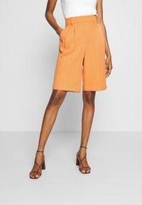 Topshop - CLEAN SHORT - Shorts - apricot - 0