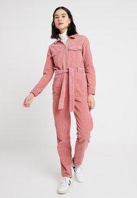Topshop - Jumpsuit - pink - 0