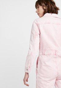 Topshop - ACID BOILER - Jumpsuit - pink - 3