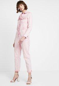 Topshop - ACID BOILER - Jumpsuit - pink - 1