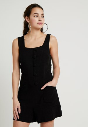 BUTTON - Jumpsuit - black