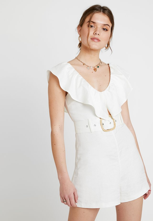 FRILL - Overall / Jumpsuit - ivory