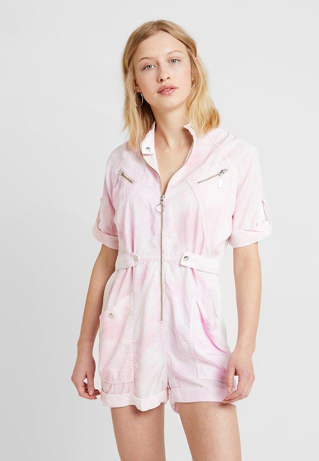 TIE DYE - Jumpsuit - pink