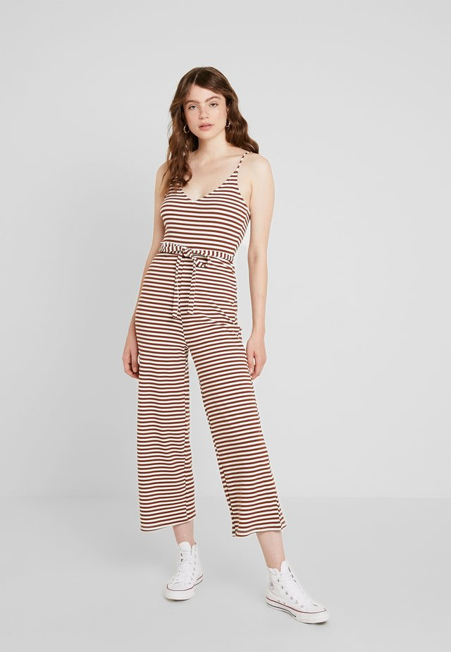 STRIPE RUTH - Mono - brown