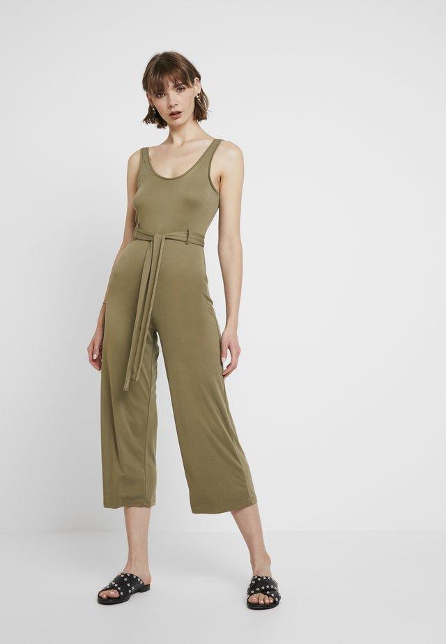 SCOOP - Overall / Jumpsuit - khaki