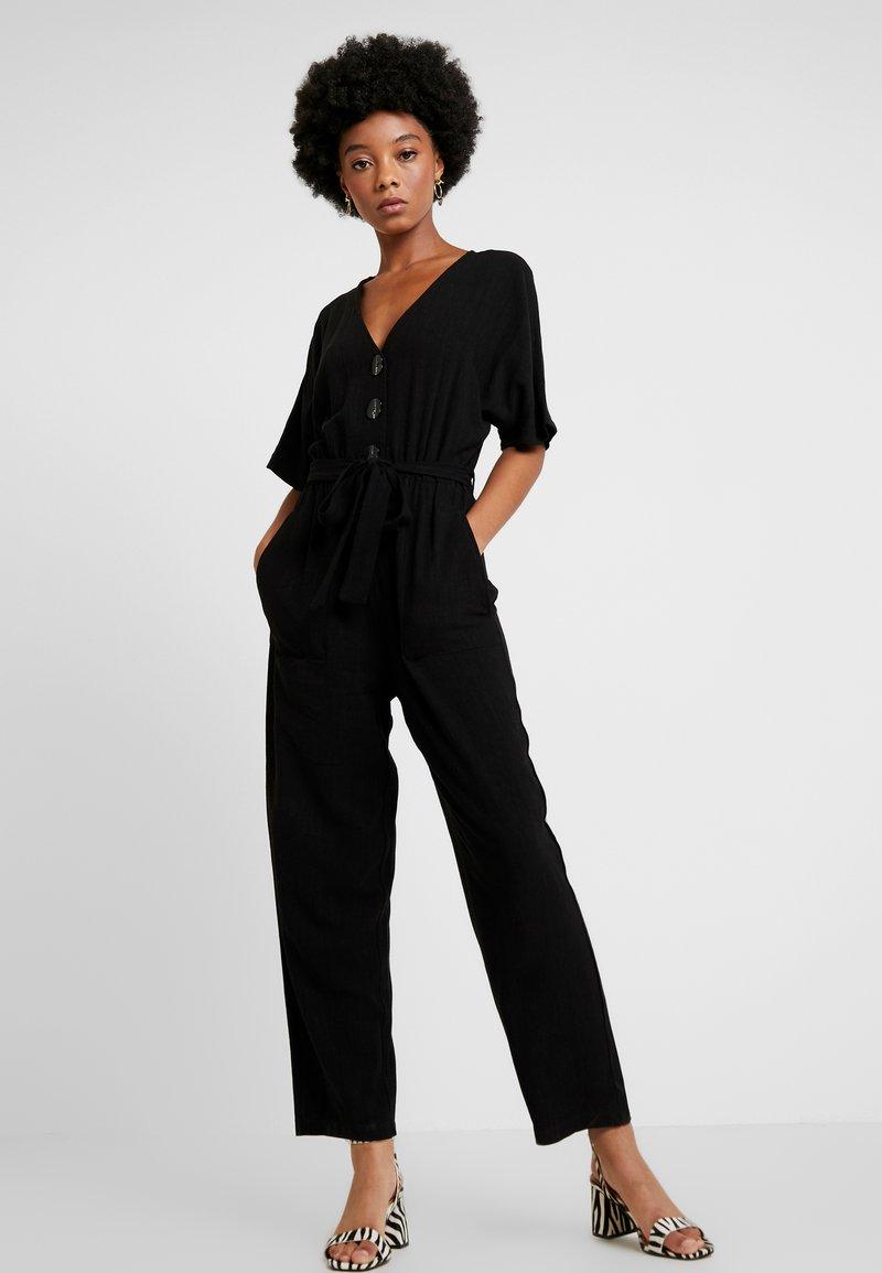 Topshop - LOUISA - Overall / Jumpsuit /Buksedragter - black