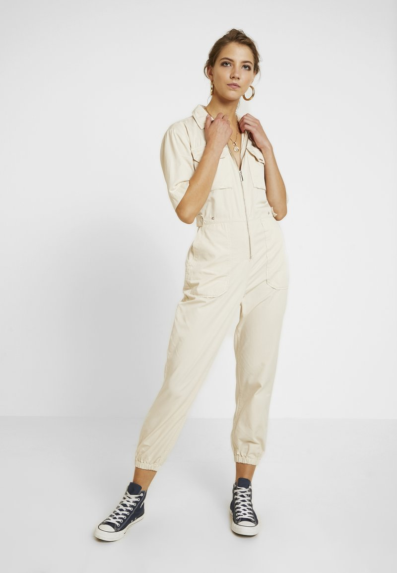 Topshop - CODY BOILER - Jumpsuit - off-white