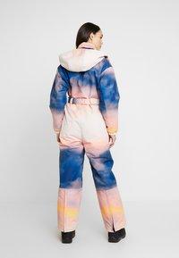 Topshop - SNO PRINTED AIO - Tuta jumpsuit - pink/yellow - 2