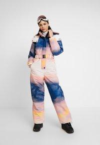 Topshop - SNO PRINTED AIO - Tuta jumpsuit - pink/yellow - 1