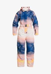 Topshop - SNO PRINTED AIO - Tuta jumpsuit - pink/yellow - 4