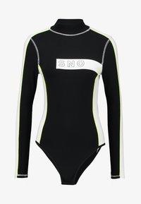 Topshop - SNO THERMAL BODY  - Maglietta a manica lunga - black - 3