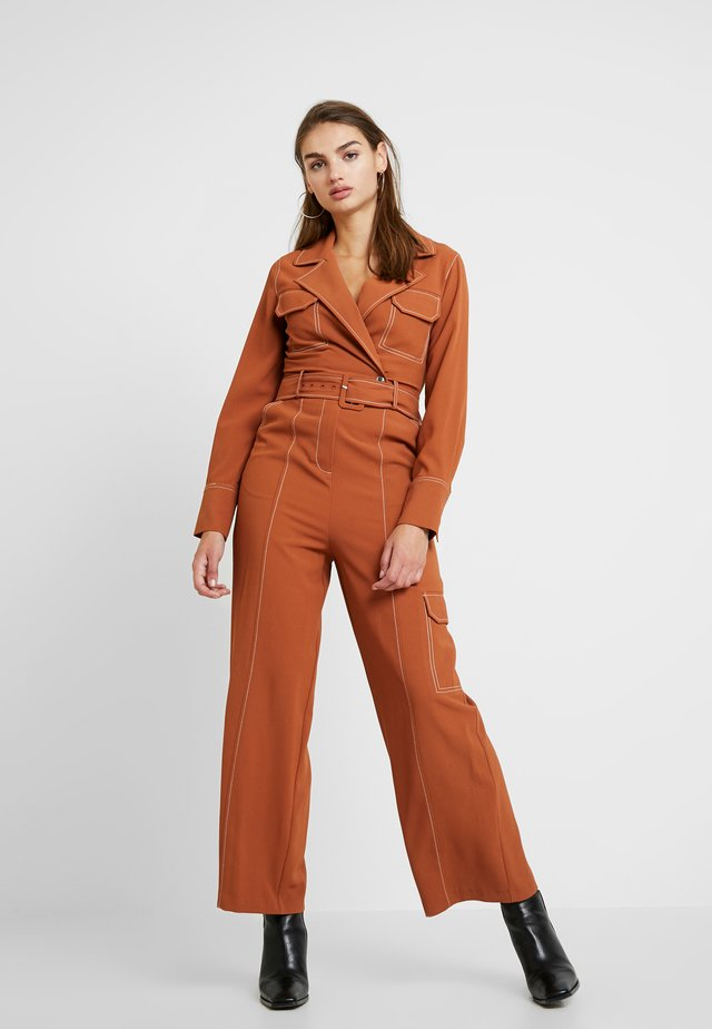 FLYING - Overall / Jumpsuit - rust