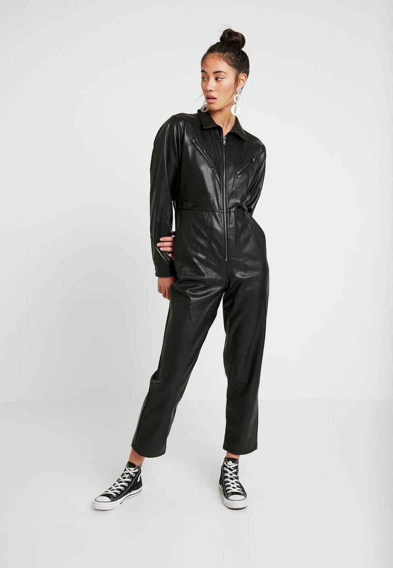 Topshop - BOILER - Jumpsuit - black