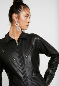 Topshop - BOILER - Jumpsuit - black - 4