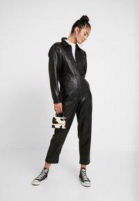 Topshop - BOILER - Jumpsuit - black - 1
