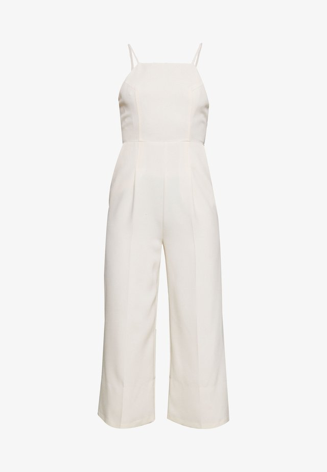 STRAPPY BACK  - Tuta jumpsuit - ivory