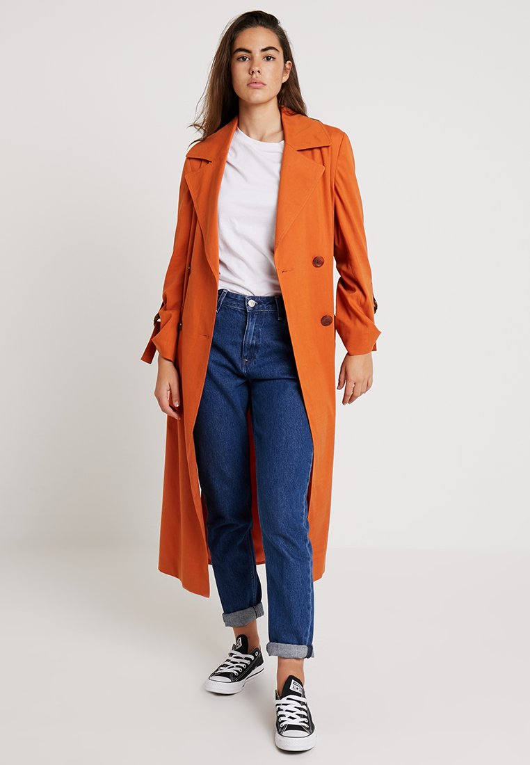 Topshop - HANNAH - Trench - rust