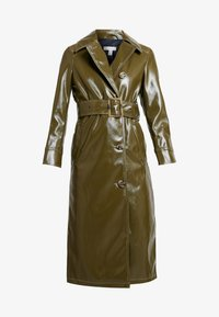 Topshop - CONTRAST STITCH - Trench - olive - 4