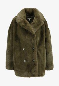 Topshop - ALLY - Zimní kabát - khaki - 4