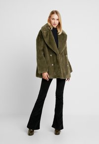 Topshop - ALLY - Zimní kabát - khaki - 1