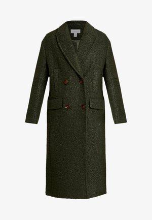 KIM BOUCLE - Zimní kabát - khaki