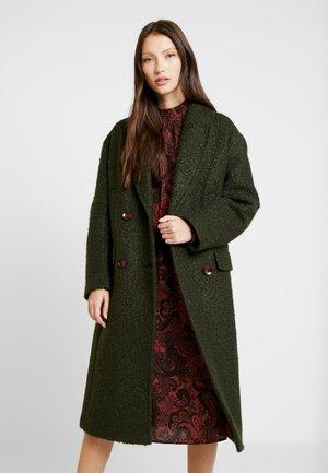 KIM BOUCLE - Classic coat - khaki