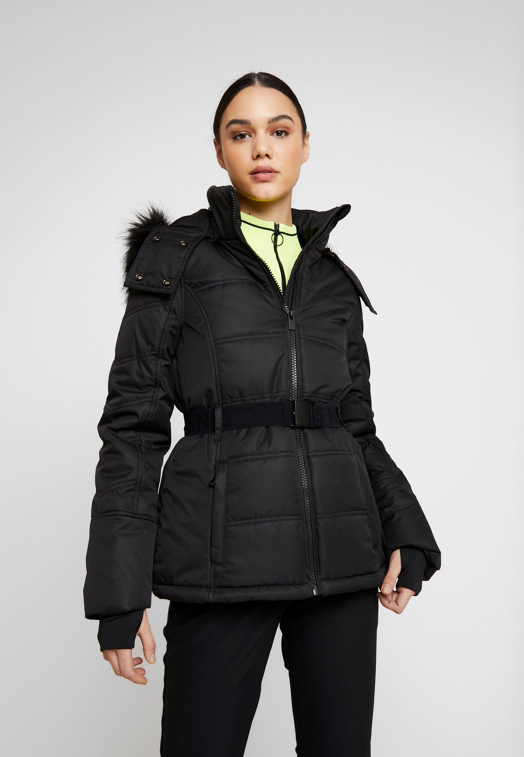 Topshop SNO PLUTO JACKET - Veste d'hiver black