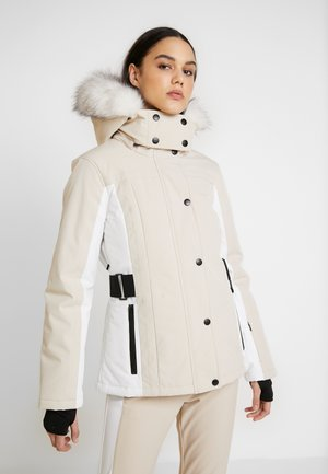 SNO LUNA - Winter jacket - tan/white