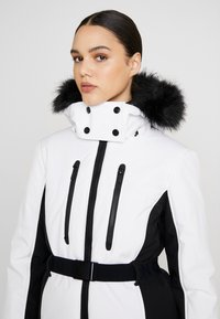 Topshop - SNO SUN - Winter jacket - black and white - 4