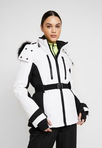 Topshop - SNO SUN - Winter jacket - black and white - 0