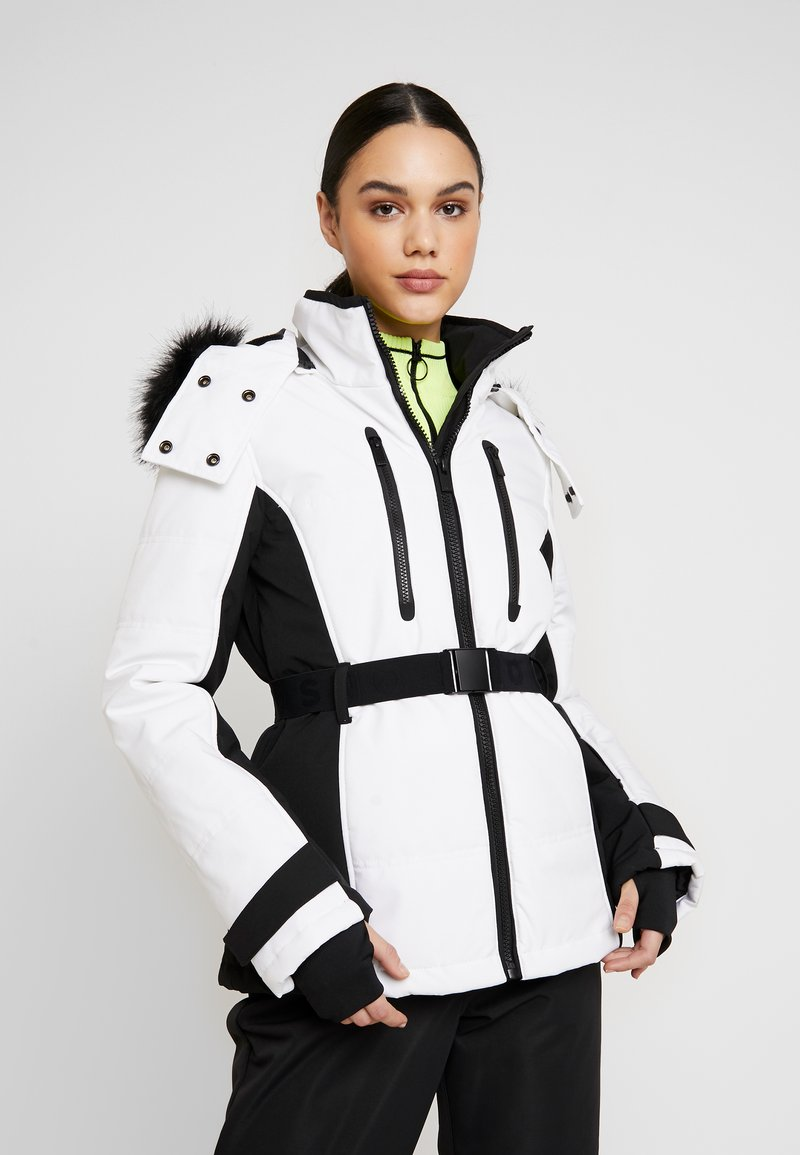 Topshop - SNO SUN - Winter jacket - black and white