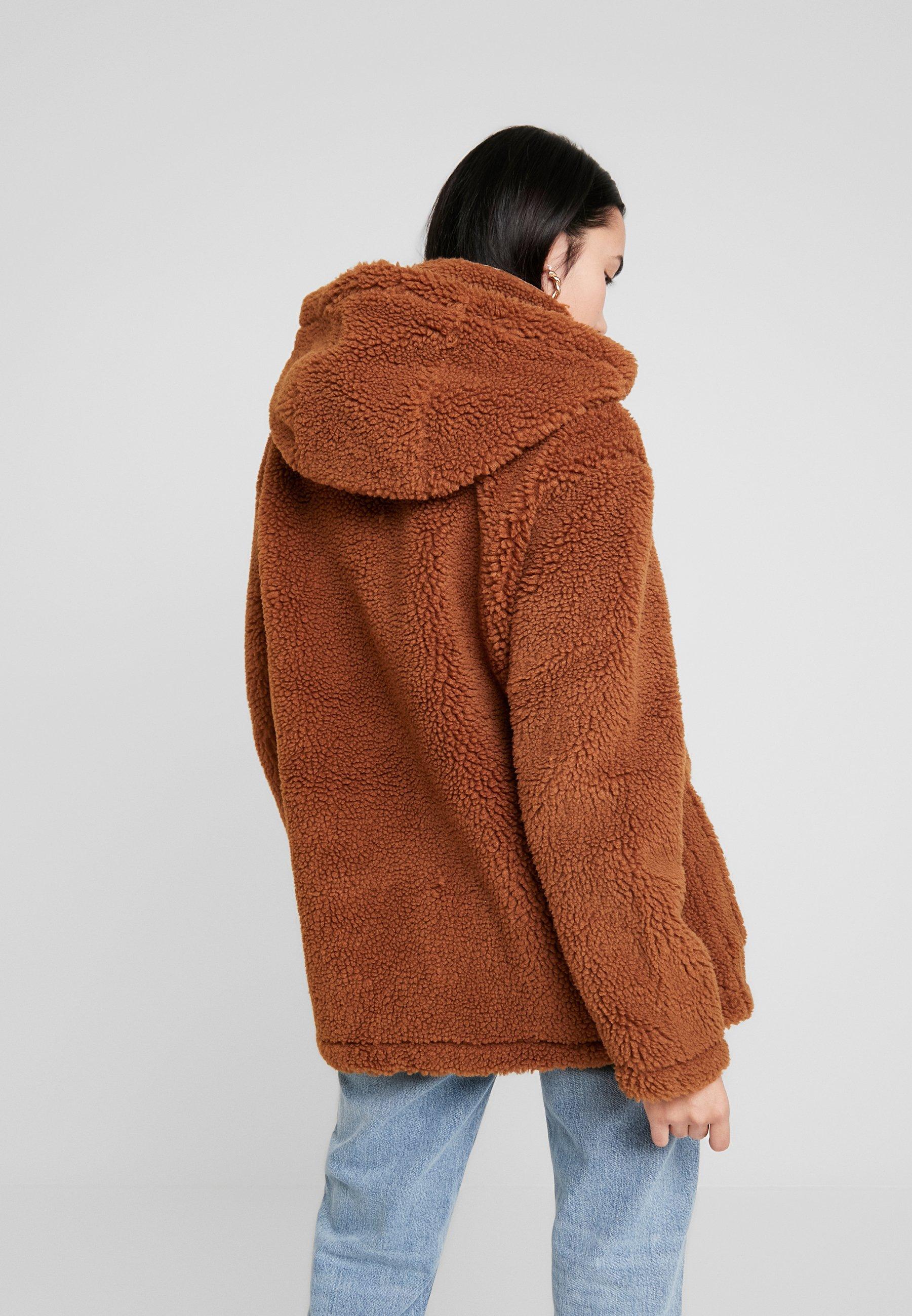 Topshop VINNY - Giacca invernale brown