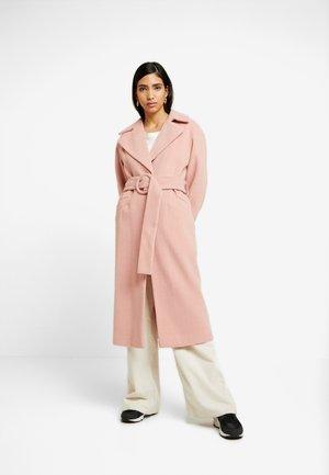 MELANIE HERRINGBONE TRENCH - Manteau classique - pink
