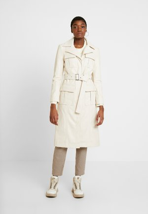 TULA UTILITY - Faux leather jacket - cream
