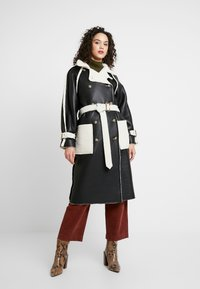 Topshop - ROXY REVERSIBLE TRENCH - Prochowiec - cream - 3