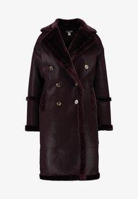 Topshop - ASHTON - Winter coat - oxblood - 4