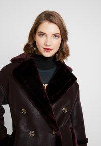 Topshop - ASHTON - Winter coat - oxblood - 3