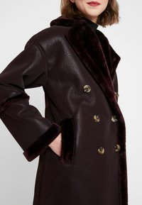 Topshop - ASHTON - Winter coat - oxblood - 5