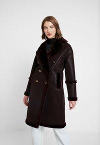 Topshop - ASHTON - Winter coat - oxblood - 0