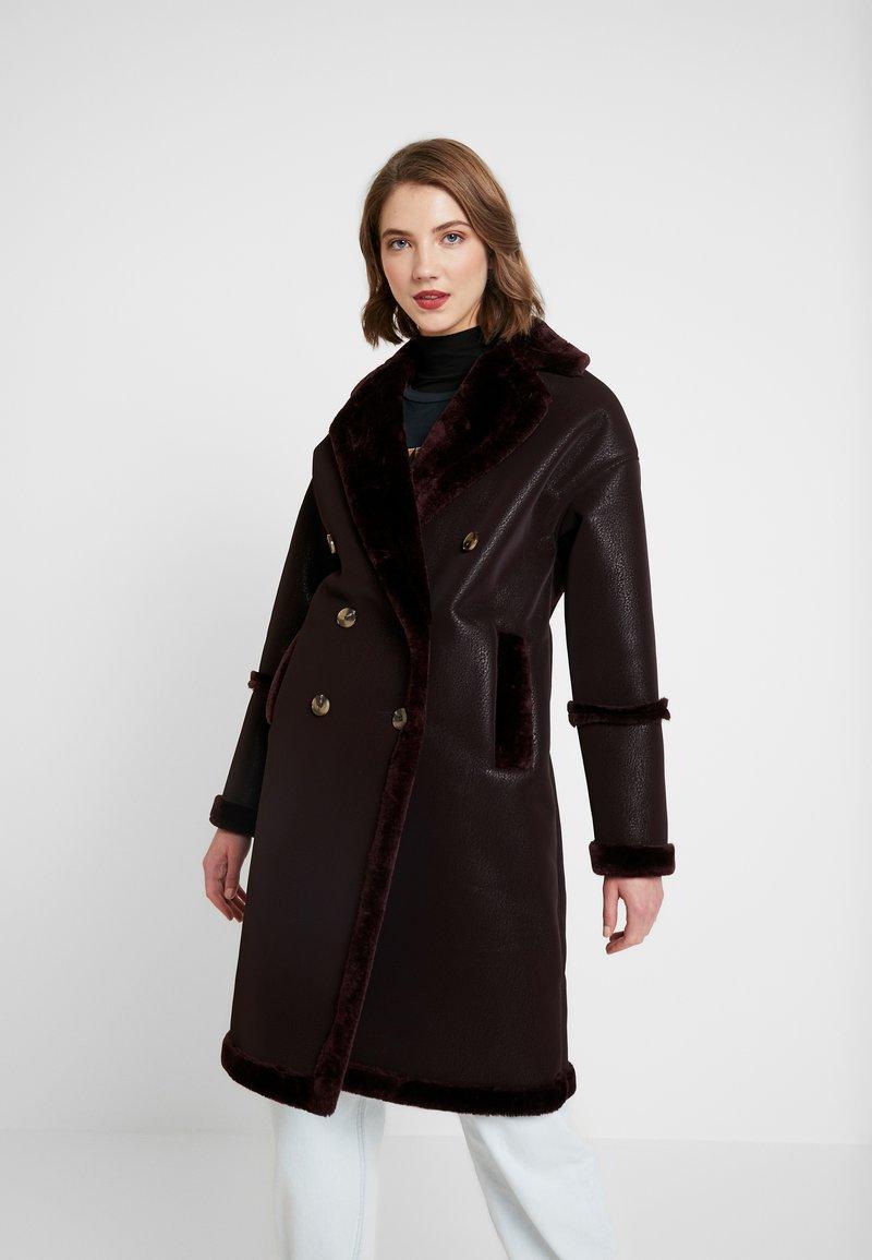 Topshop - ASHTON - Winter coat - oxblood