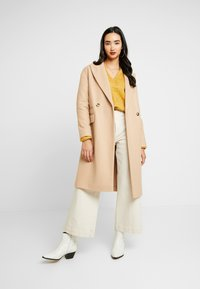 Topshop - CISSIE - Zimní kabát - camel - 1