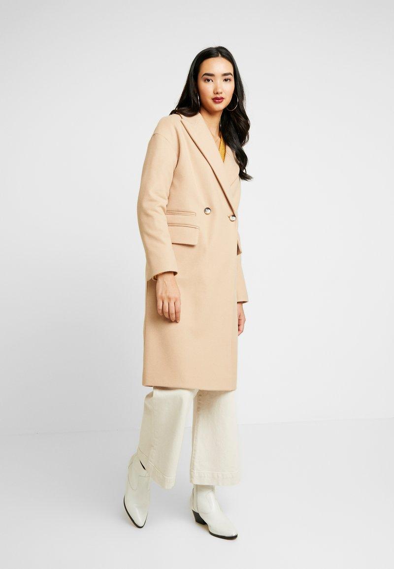 Topshop - CISSIE - Zimní kabát - camel
